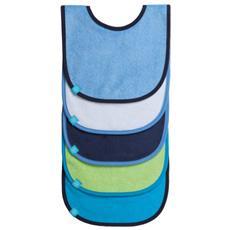 Bib Value Pack, Blu, Verde, Cotone, Poliestere, Velcro