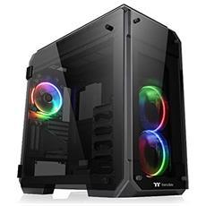 Case View 71 Big Tower E-ATX / ATX / Micro-ATX / Mini-ITX 2 Porte USB 3.0 Illuminazione RGB Colore Nero (Finestrato)