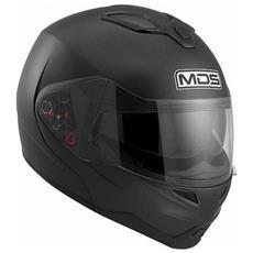 Md200 Solid Casco Modulare Taglia Xl