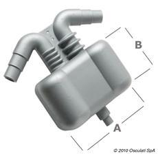 Separatore acqua / gas 4,5 l