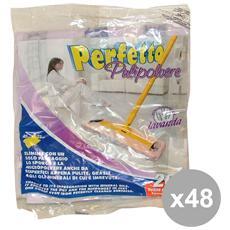 Set 48 20 Panni Pulipolvere Lavanda Art. 0260 Attrezzi Pulizie
