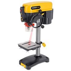 Trapano A Colonna Da Banco 350w Mandrino 13mm Laser Lavoro Professionale Powx152