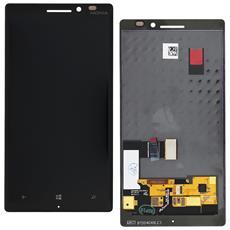 Ricambio Lcd Schermo Display + Touch Screen Unit Digitizer Nero Originale Nokia Per Lumia 930 + Kit Attrezzi Smontaggio
