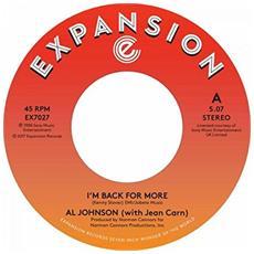 "Johnson, Al - I'M Back For More / I'Ve Go (7"")"
