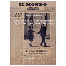 La pagina d'arte de «Il mondo» di Mario Pannunzio (1949-1966)