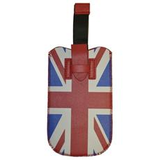 Case102 Uk Custodia Simil Pelle Smartphone 3 -4,5 Estrazione Facile