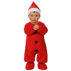 Costume Neonato Babbo Natale 0 A 6 Mesi