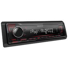 Autoradio Digital Media Receiver con USB e AUX frontali KMM-204 Potenza 4 x 50 Watt