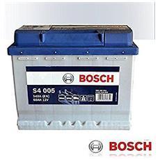 Batteria Avviamento 60ah Bosch S4005 Linea Blu 540a Di Spunto Nuova Etichetta