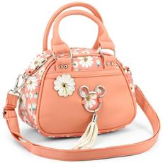 Mickey Mouse Borsa Bauletto Fashion Linea Rosa Shopping