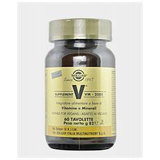 Solgar Vm-2000 Supplement 60 Tavolette
