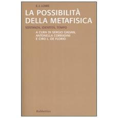 La possibilità della metafisica. Sostanza, identità, tempo