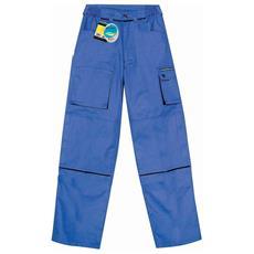 Pantalone Goodyear In Poliestere E Cotone Colore Royal Taglia 4xl