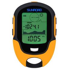 Bussola Digitale Sunroad Multifunzione Lcd Digital Altimetro Barometro Termometro Igrometro Previsioni Meteo