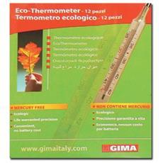 Nuovo Termometro Ecologico Gima - Conf. 12 Pz.