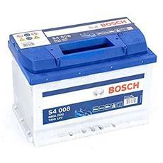 Batteria Avviamento 74ah Bosch S4008 Linea Blu 680a Nuova Etichetta