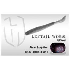 Leftail Worm 4,8' Plum Sapphire