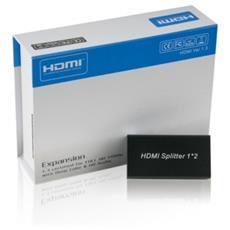 HDGear 1x2 HDMI, HDMI, 1920 x 1080 (HD 1080) , 1920 x 1080 Pixel, 1080p, Nero, RoHS