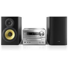 Sistema Micro Hi-Fi BTD7170/12 Lettore DVD Supporto MP3 Potenza Totale 150Watt Bluetooth / NFC HDMI USB