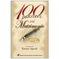 100 pensieri sul matrimonio