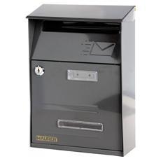 Cassetta postale in acciaio verniciato grigio mod. Signal