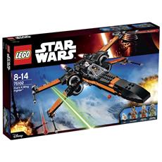 LEGO - 75102 Star Wars - X-Wing Fighter Di Poe
