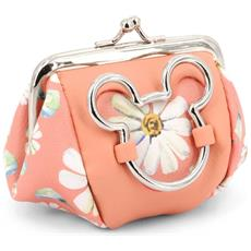 Mickey Mouse Portamonete Fashion Linea Rosa Shopping