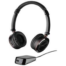 Cuffie con Microfono per Giochi PC Connessione Bluetooth Nera 10 m
