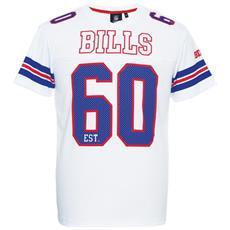 T-shirt Uomo Rimnet Mesh Bills Xs Bianco Blu