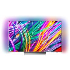 "TV LED Ultra HD 4K 55"" 55PUS8303/12 Smart TV Ambilight UltraSlim"