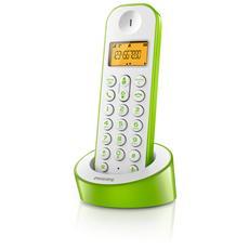 D120 Telefono Cordless Colore Bianco / Verde
