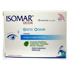 occhi gocce oculari 15 flaconcini monodose da 0,5 ml
