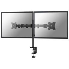 """Supporto monitor da scrivania NeoMounts NM-D135DBLACK 10 - 27"""" Portata max 16 Kg"""