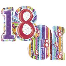 Palloncino Supershape Compleanno 18 Anni *01799