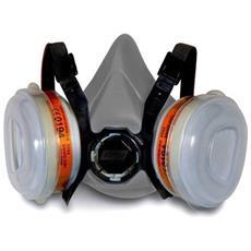 Mascherina Protezione Respiratore Filtri Per Carrozziere Verniciatura Auto Lavoro