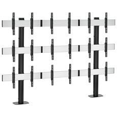 PFF 7060 Piastra di montaggio per pavimento, argento