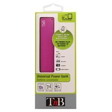 PBU2000PK, USB, Rosa, USB, Fotocamera, Gaming controls, MP3, Smartphone, Micro-USB