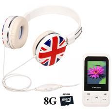 SDA-8062N CF Lettore MP3 Bianco
