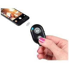 TESELFIE, Pulsanti, Bluetooth, Nero, Smartphone, Universale
