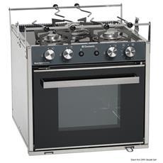Cucina con forno a gas Smev Sunlight Slim 2 fuochi