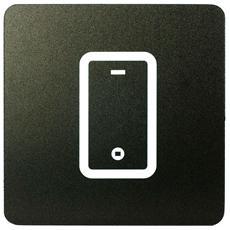 Segnaletica Targa Area Telefono Cellulare Pittogrammi 16X16 Con Adesivo