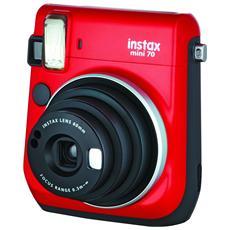 Instax Mini 70 Rosso Fotocamera a Sviluppo Istantaneo
