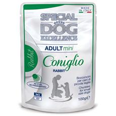 Special Dog Excellence Cane Taglia Piccola, Coniglio Gr. 100