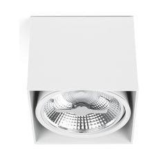 Proiettore Barcellona Tecto 63274-plafoniera, 50 W, Corpo In Alluminio, Colore: Bianco