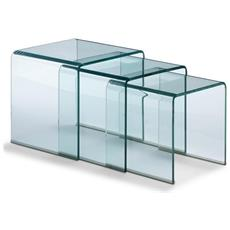 Tavolini Nest Clear