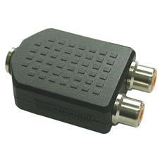 99346 3.5mm 2xCinch Nero cavo di interfaccia e adattatore
