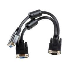 MONG2HB, 0,3m, VGA (D-Sub) , VGA (D-Sub)