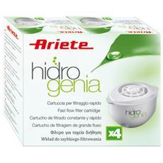 Confezione 4 Filtri di Ricambio Hidrogenia