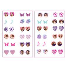Violetta - Orecchini Sticker 24 Paia