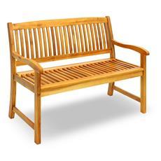 Panchina per esterni in legno di acacia due posti